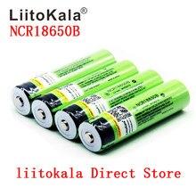 Новая Оригинальная батарея LiitoKala 18650 3400 мАч 3,7 в, литий-ионная аккумуляторная батарея 18650B18650 3400 NCR18650B