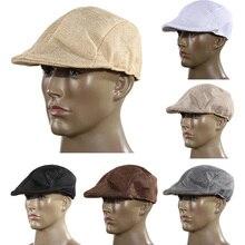Country фуражка газетчик берет visor golf бейсбол гонки плоским шляпа солнца
