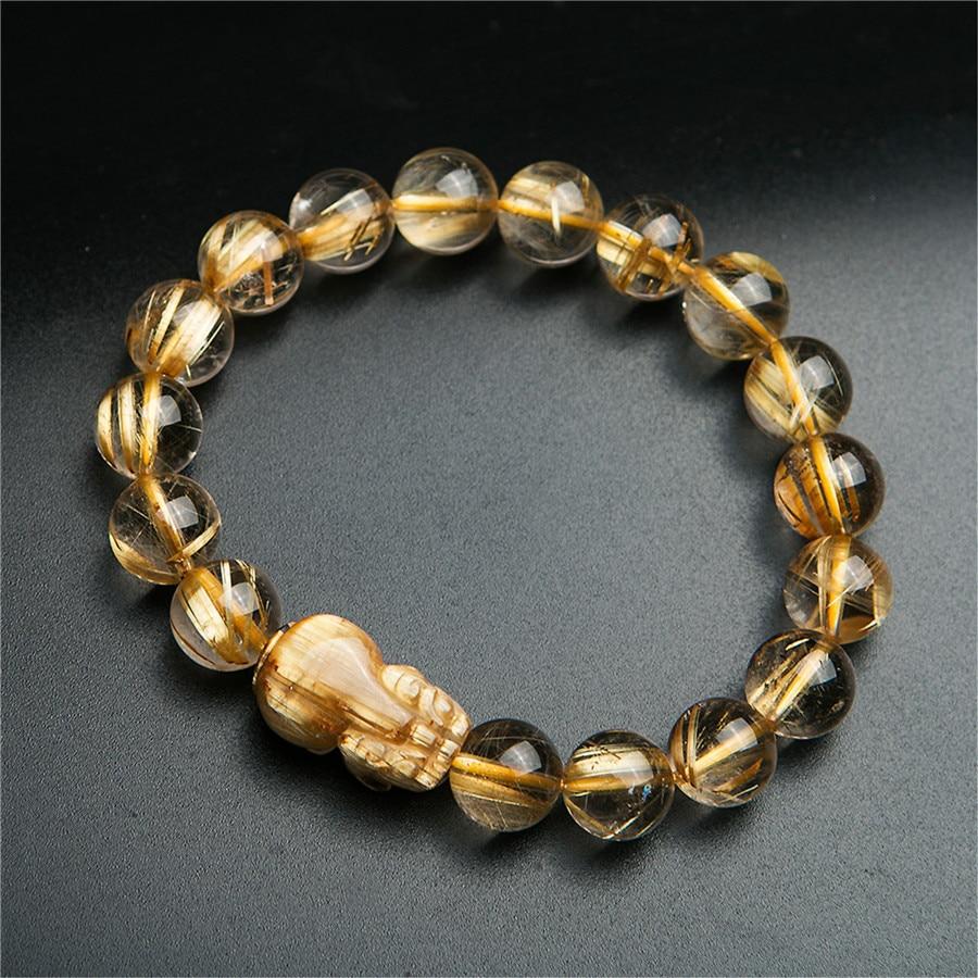 LiZiFang Natural Obsidian Gemstone Horse Shape Women Men Powerful Necklace Pendant