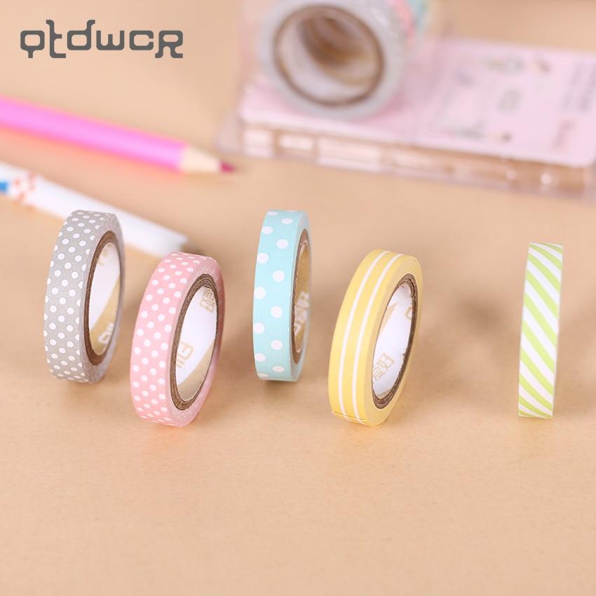 Merry X/'mas Washi Tape Rolls Decor Sticky Paper Masking Adhesive Tape 1.5CMx5M