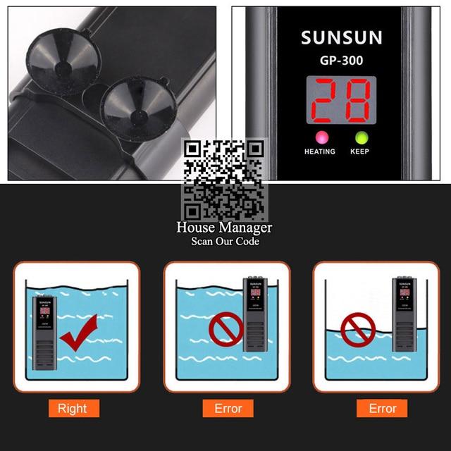 Digital Aquarium Temperature Controller 6