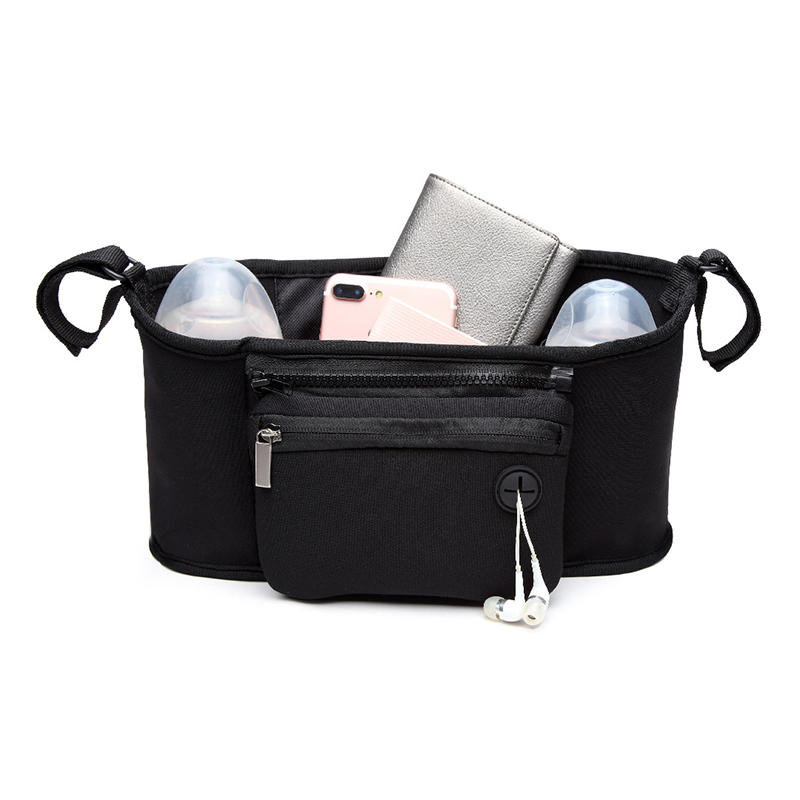 Baby Stroller Bag Organizer Toddler Nappy Diaper Bags Multifunction Stroller Holder Mummy Bag For Baby Care Accessories BB5100 (9)