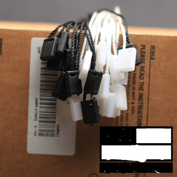 Dodatki do odzieży Tag line karta lina karta klamra sznurowanie przycisk zatrzaskowy ręczne gwintowanie wiszące ziarno drutu tanie i dobre opinie Etykiety odzieżowe 0147998 Pielęgnacja lables Tłoczone Torby Tkaniny Zmywalna Ekologiczne black white 18 CM ORANGE
