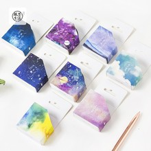 Sky series washi paper tape Creative stationery techo album diary DIY stickers