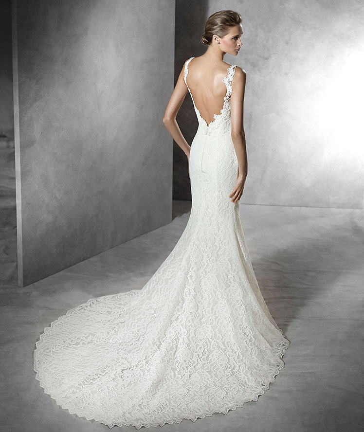 Wedding Dress Open Back Mermaid - Wedding Dress Ideas