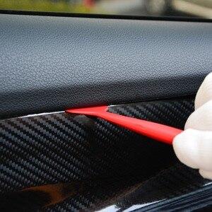 Image 3 - FOSHIO pencere tonu aracı Set oto araba aksesuarları vinil şal karbon folyo filmi renklendirme manyetik çekçek araba Sticker sarma aracı