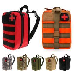 Тактическая медицинская сумка для путешествий, набор первой помощи, многофункциональная поясная Сумка для кемпинга, альпинизма, сумка для ...