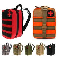 Outdoor Tactical Medical Bag Travel First Aid Kit Multifunctional Waist Pack Camping Climbing Bag Emergency Case