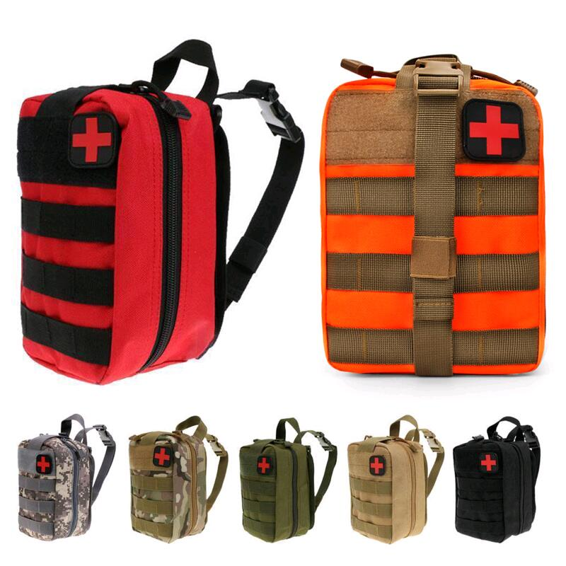 Outdoor Tactical Medical Bag Travel First Aid Kit Multifunctional Waist Pack Camping Climbing Bag Emergency Case Survival Kit 35pcs pack travel outdoor safe camping hiking travel emergency emergency box case first aid kit survival