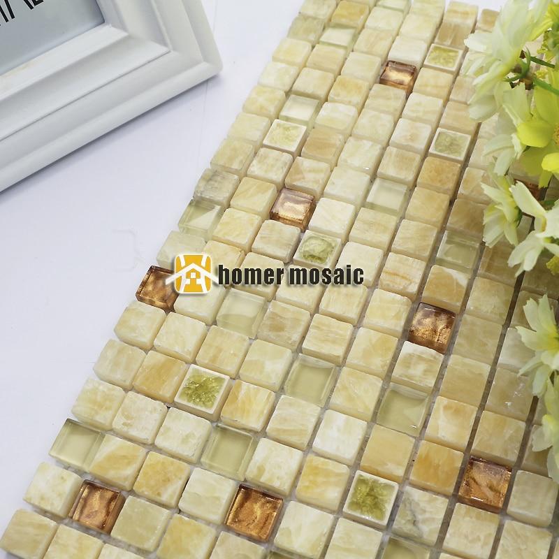 Beige Weiß Farbe Stein Gemischte Diamant Mosaik Fliesen Für Küche  Backsplash Badezimmer Dusche Fliesen Kamin Mosaik