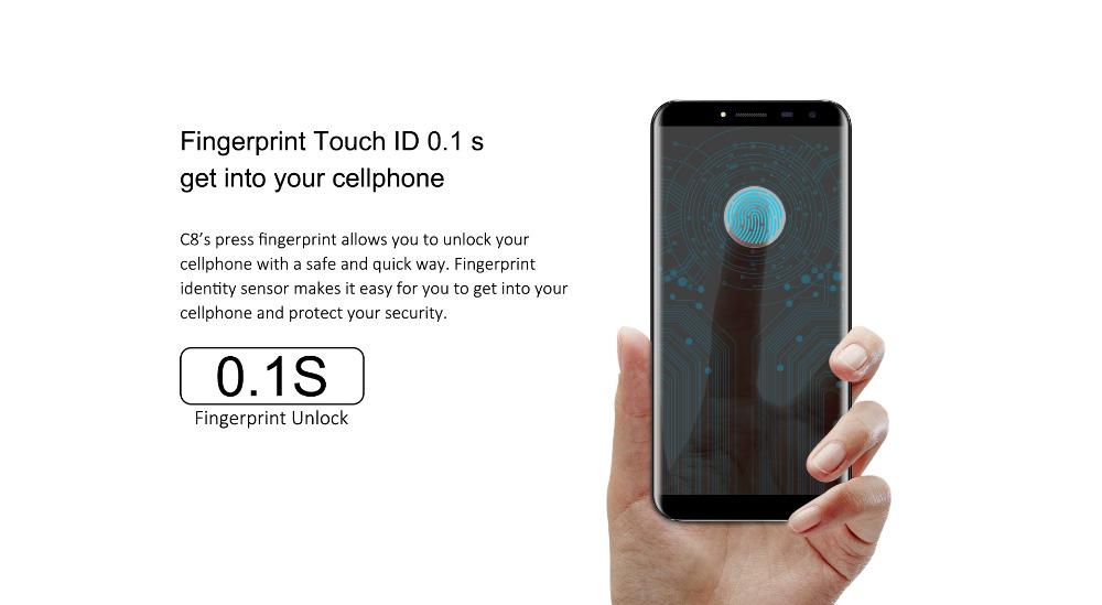 oukitel c8 Smartphone (4)