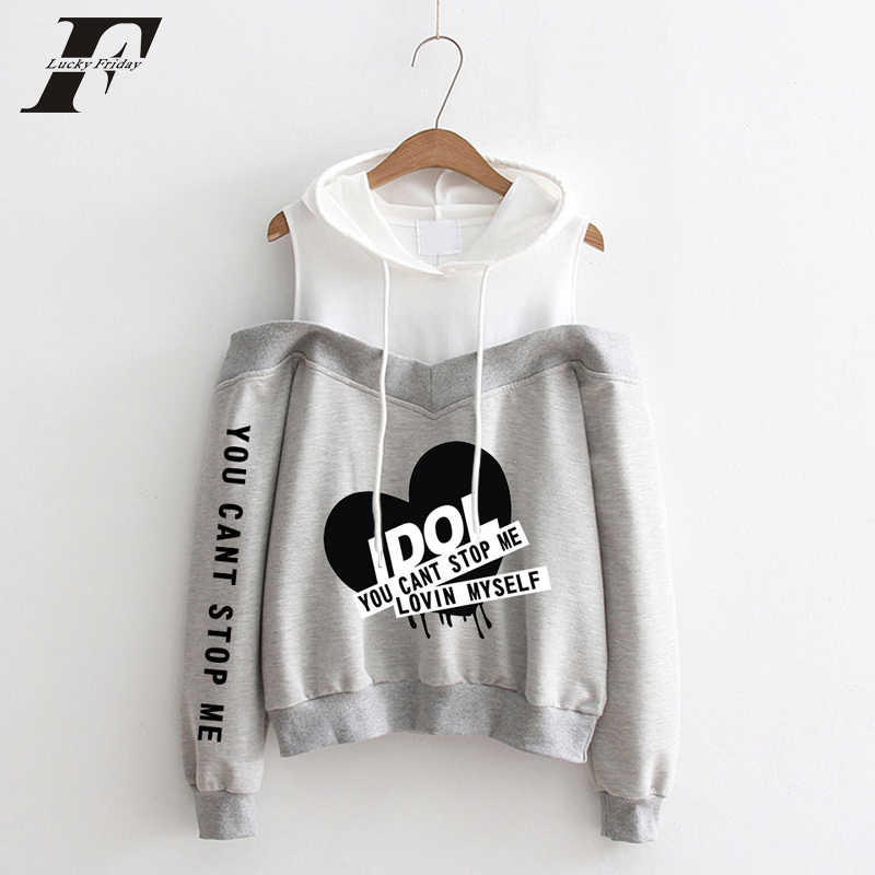 572a3a8ffdc6b0 bts 2018 kpop IDOL Pattern printing oversized hoodies sweatshirts women hip  hop hooded BTS Love Yourself