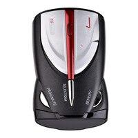 Detector del Radar del coche de Alarma de Detección de Velocidad de Radar Móvil Apoyo Inglés Ruso Voz Anuncio XRS 9880/9345/9740 coche-detector