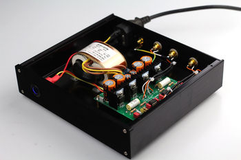 GZLOZONE  Finished RIAA MM Phono Turntable Preamplifier / base on DUAL MM LP amp L3-62
