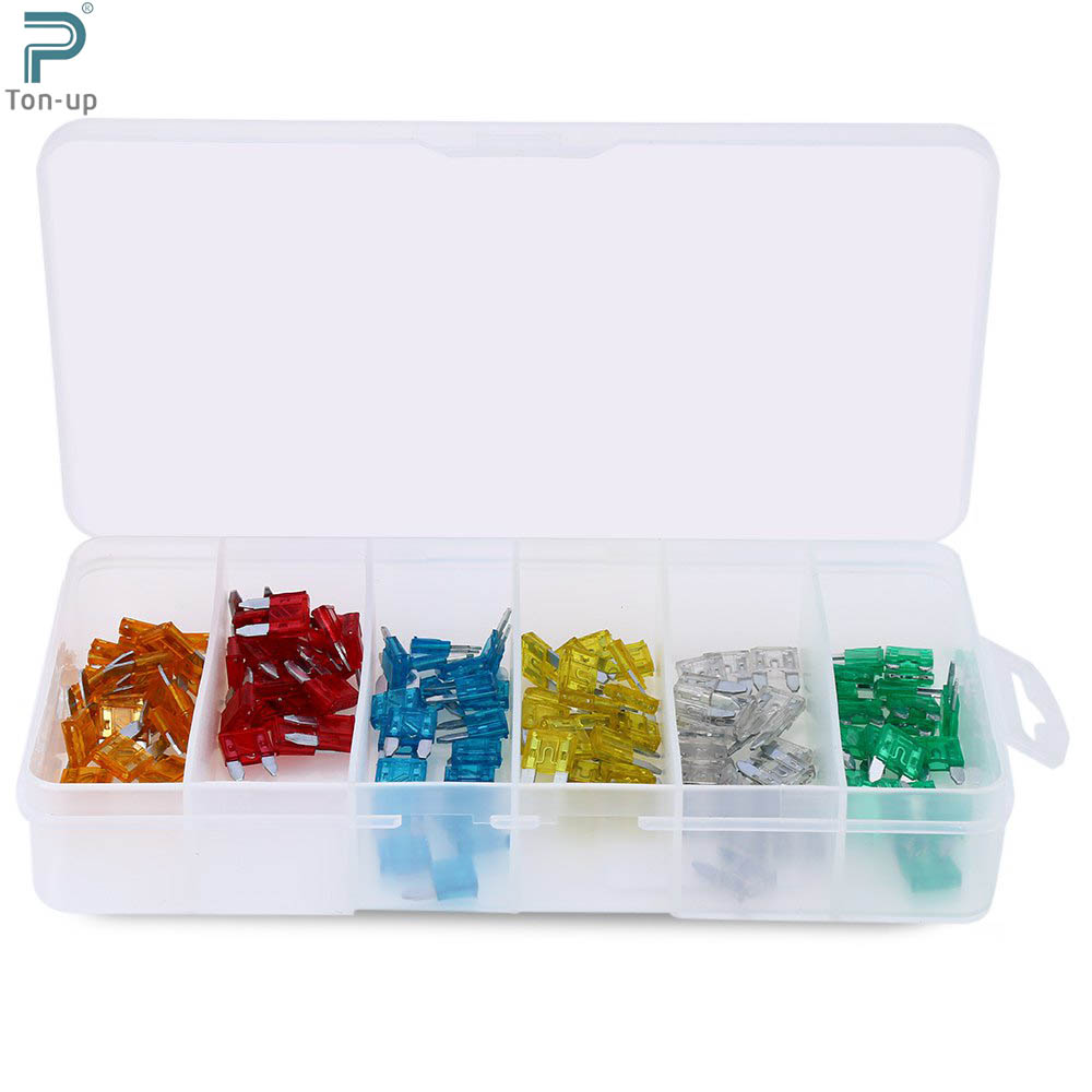 120pcs Lot Car Auto Boat Truck Blade Type Fuse Box Assortment Kit 5a Portable 10a 15a 20a 25a 30a Packing In Nuts Bolts From Automobiles Motorcycles On