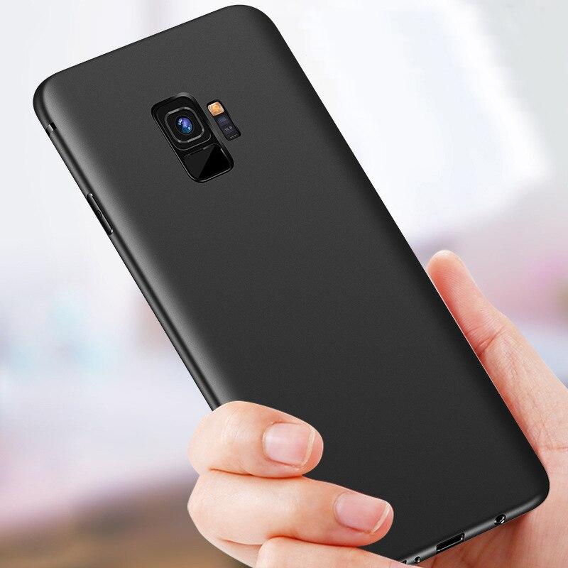 CAPSSICUM Ультратонкий Мягкий матовый чехол для Samsung Galaxy S9 /S9 Plus, чехлы из ТПУ, Гибкий тонкий гелевый Чехол для Samsung S9Plus