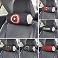 cute cartoon avengers super hero cars seat headrests pillow for the neck automobile pillows under cushion set auto accessories