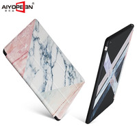 For IPad Air 1 Case Marble Pattern Tri Fold PU Leather Front Smart Cover For Ipad