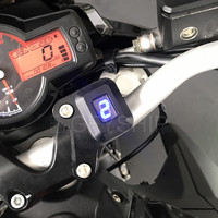 Motorcycle LCD 1 6 Level Gear Indicator Digital Gear Meter With Bracket For Benelli 600 TNT 600 BN600 BJ600GS / A BN600GT BJ600