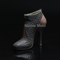 Luxury High Heels Design Silicone Mold Fondant Cake Decorating Tools Handmade Chocolate Soap Candle Mould Resin