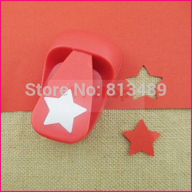 free shipping 38mm Star paper cutter diy craft punch hole punch shapes perfuradores de papel decorative arts and crafts S3027 diy fondant decorative cutter cake punch set purple