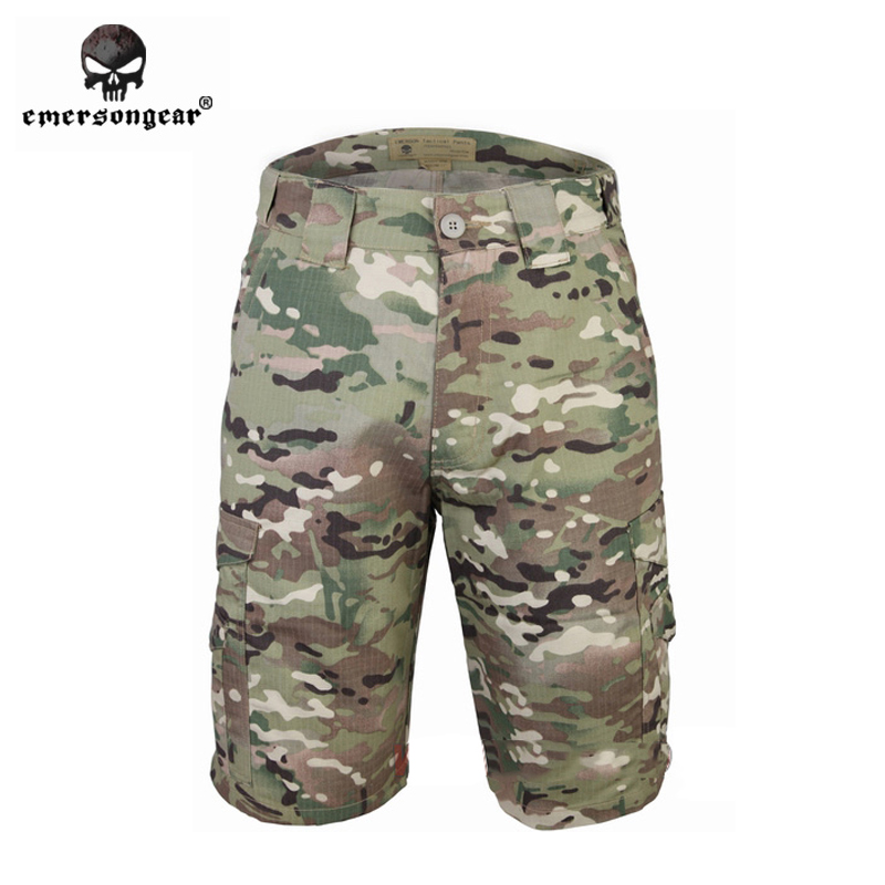ФОТО Hunting Airsoft trousers EMERSONGEAR multicam Tactical Shorts Military army pants EM7023