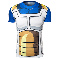Fashion 2016 brand anime dragon ball z vegeta t shirt men super saiyan goku fitness cosplay.jpg 250x250