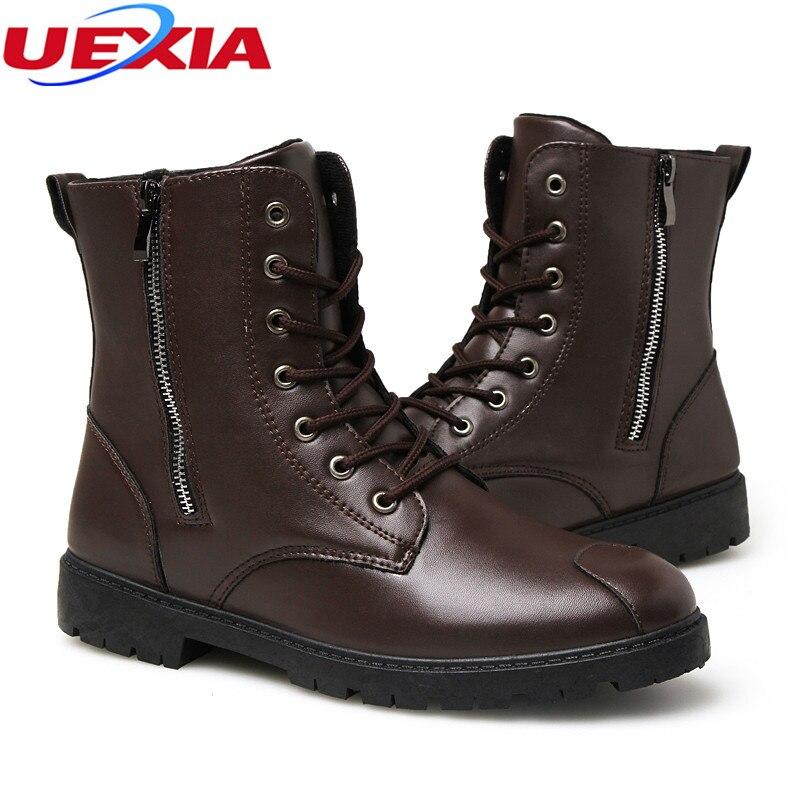 f8922b3d5 € 41.19  Coutures en cuir Zapatos Chaussures de Bottes Hommes Militaire  Désert Tactique Boot Respirant Bottines de Combat Bottes Botas Tacticos de  ...
