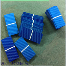 100pcs pack 0 5V 37mA solar cells 52 24 mm polycrystalline solar panels for DIY Solar
