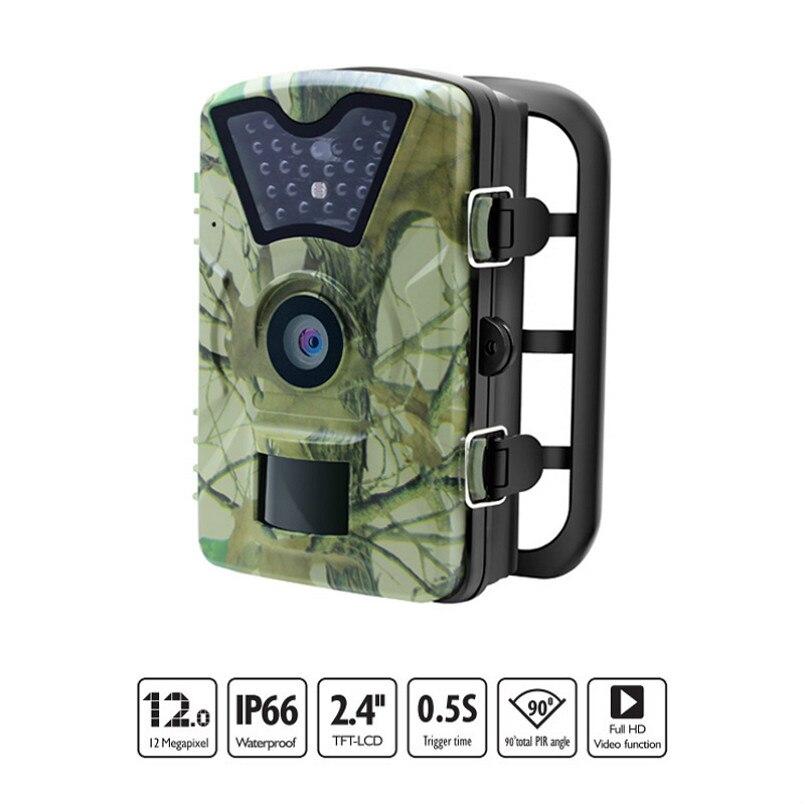 Новый 12MP изображения 1080 P дикой природы Trail Камера s инфракрасный охоты Камера обнаружения движения IP66 Открытый инфракрасный Камера s