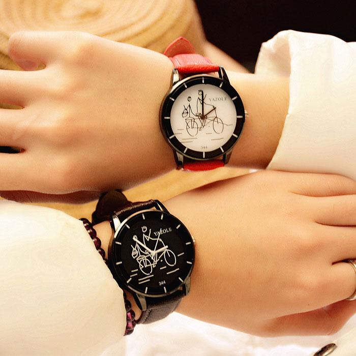 YAZOLE Simple Quartz Watch Women Watches Ladies Brand 2018 New Wristwatches For Female Wrist Clock Montre Femme Relogio Feminino 2016 yazole brand watches men women quartz watch female male wristwatches quartz watch relogio masculino feminino montre femme