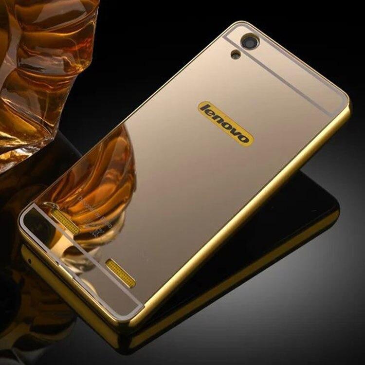 For Lenovo K3 Note Metal Case Mirror Back Cover & Aluminum Frame Bumper Phone Bag Cases For Lenovo K3 Note