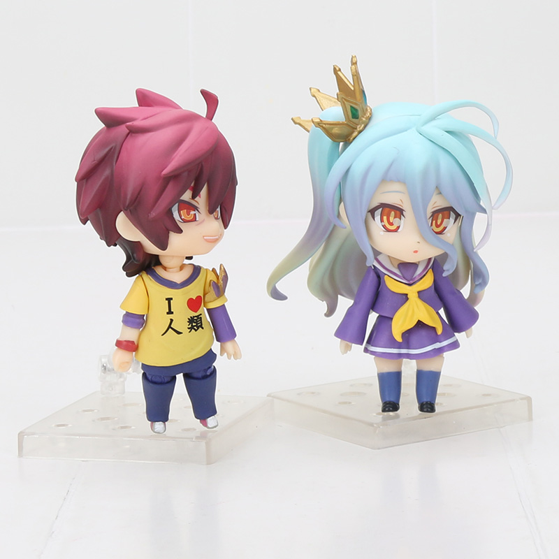 Kein Spiel Kein Leben Sora Shiro 653 #652 PVC Action Figure Sammeln Modell Spielzeug Puppe 10 CM