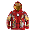 En Venta!!! Chaqueta de los bebés, Bebés capa Avengers Cosplay Capucha, Niños Iron Man ropa Exterior y la Chaqueta de Algodón ropa de bebé