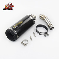Motorcycle Full Exhaust System Slip on For HONDA NC700 NC750 NC750X 2012 2017 Exhaust Muffler Pipe