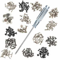 MTGATHER 300Pcs/Set Metal Assorted Laptop Screw Set Screwdriver for IBM for TOSHIBA for SONY for DELL for SAMSUNG