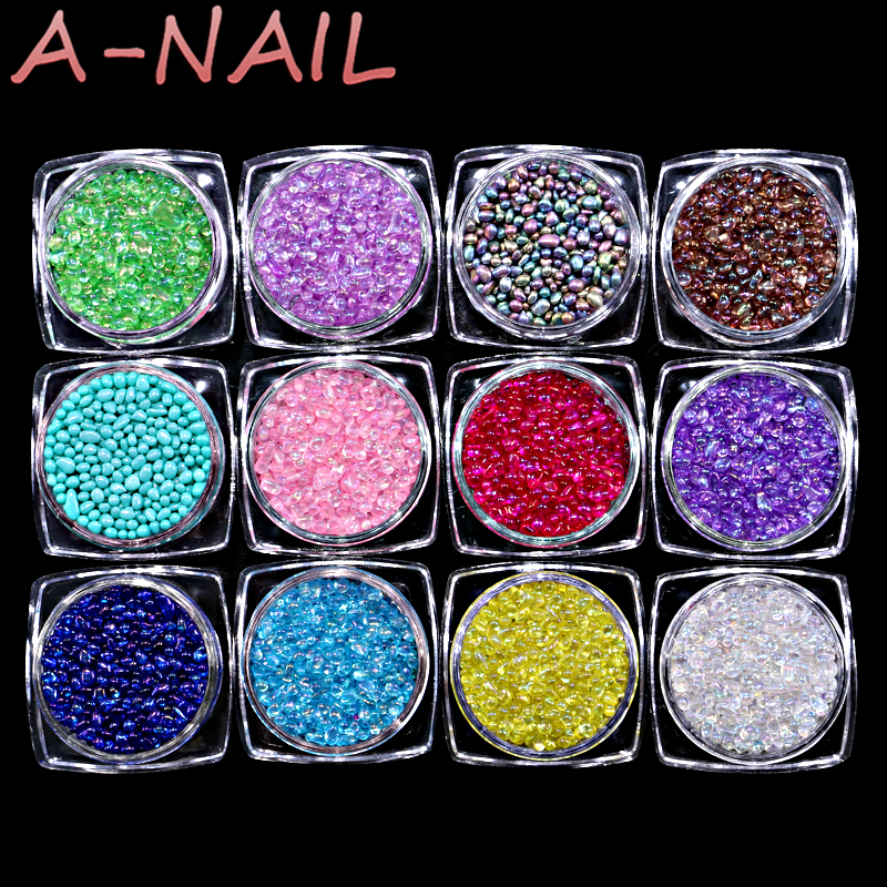 12color/set Chameleon Stone 3D Nail Rhinestone Small Irregular Beads 1 Box 5g Manicure Nail Art Decoration A-NAIL встраиваемый светильник donolux marionetta dl306g pink