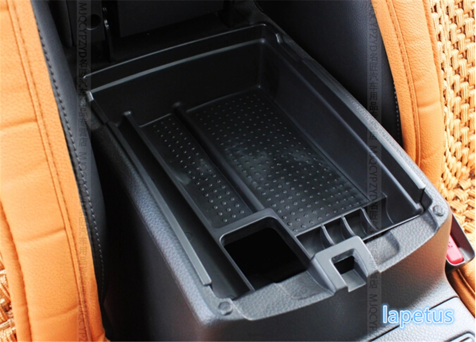 Image 3 - Lapetus Center Console Multifunction Storage Box Phone Tray Accessory Kit For Nissan X Trail X Trail T32 Rogue 2014   2019 Black-in Chromium Styling from Automobiles & Motorcycles