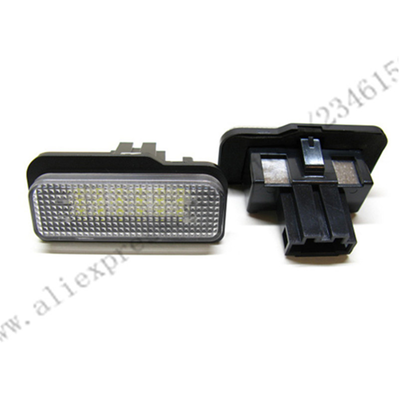 18-LED for Ben z LED License Plate Lamp light W203 (5D) Wagon/W211 /W211 5D wagon/W219 R171