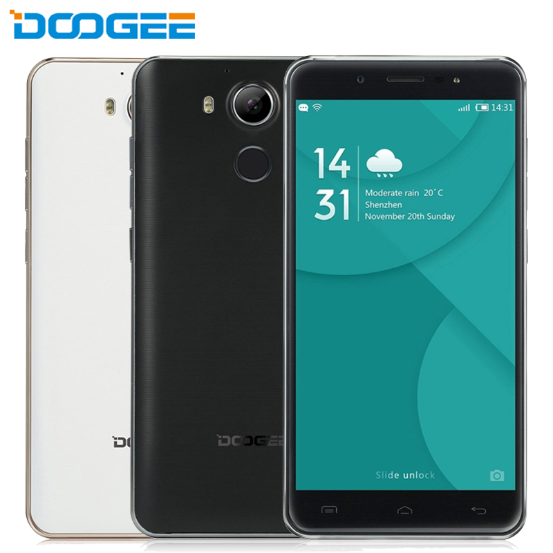 Original DOOGEE F7 Cell Phone RAM 3GB ROM 32GB Deca Core MTK6797 Helio X20 5.5inch Android 6.0 Type-C Fingerprint FHD Smartphone