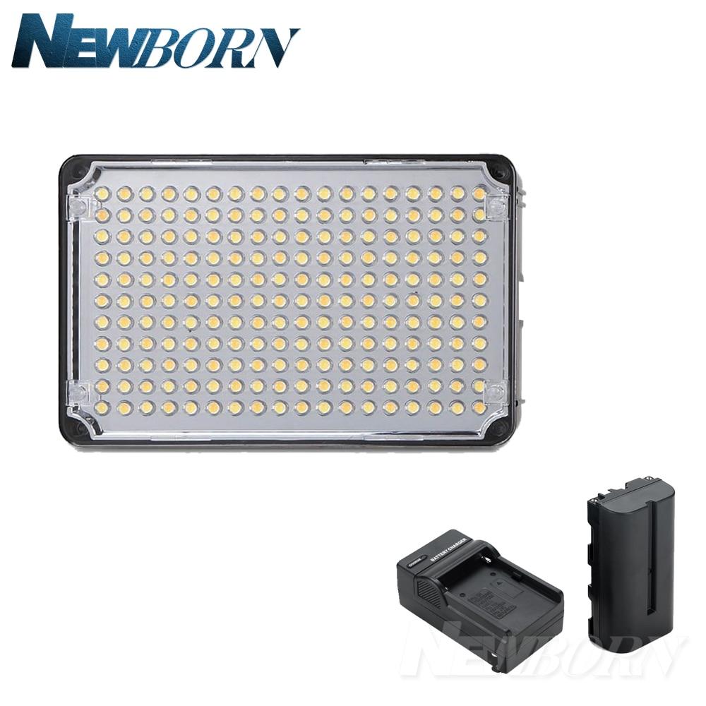 купить Aputure Amaran AL-H198 High CRI 95+ Led Panel LED Video Light photography lighting+F550 Barttery+Charger for Canon Nikon по цене 4283.16 рублей