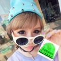 NEW Rivet beanies Neon Candy men women fluorescence winter knitted hat colorful cap 18 colors