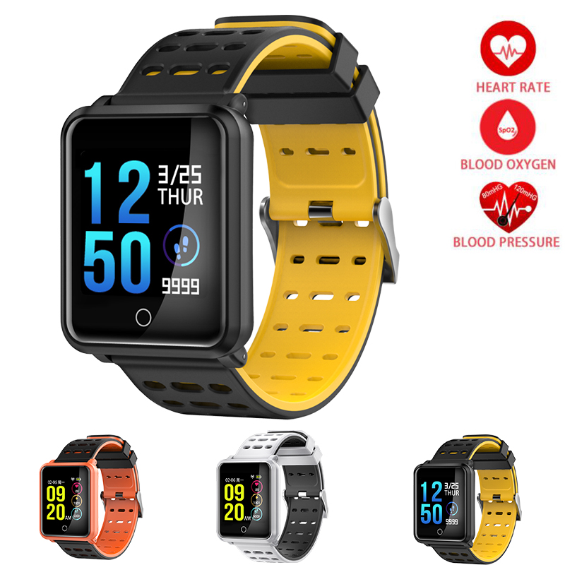 Fitness Pedometer Smart Watch Wrist Band Bracelet Heart Rate Monitor Bluetooth Touch Screen Blood Pressure Smart Sport Watch Men smart watch women bluetooth sport waterproof round smart band watch pedometer heart rate monitor