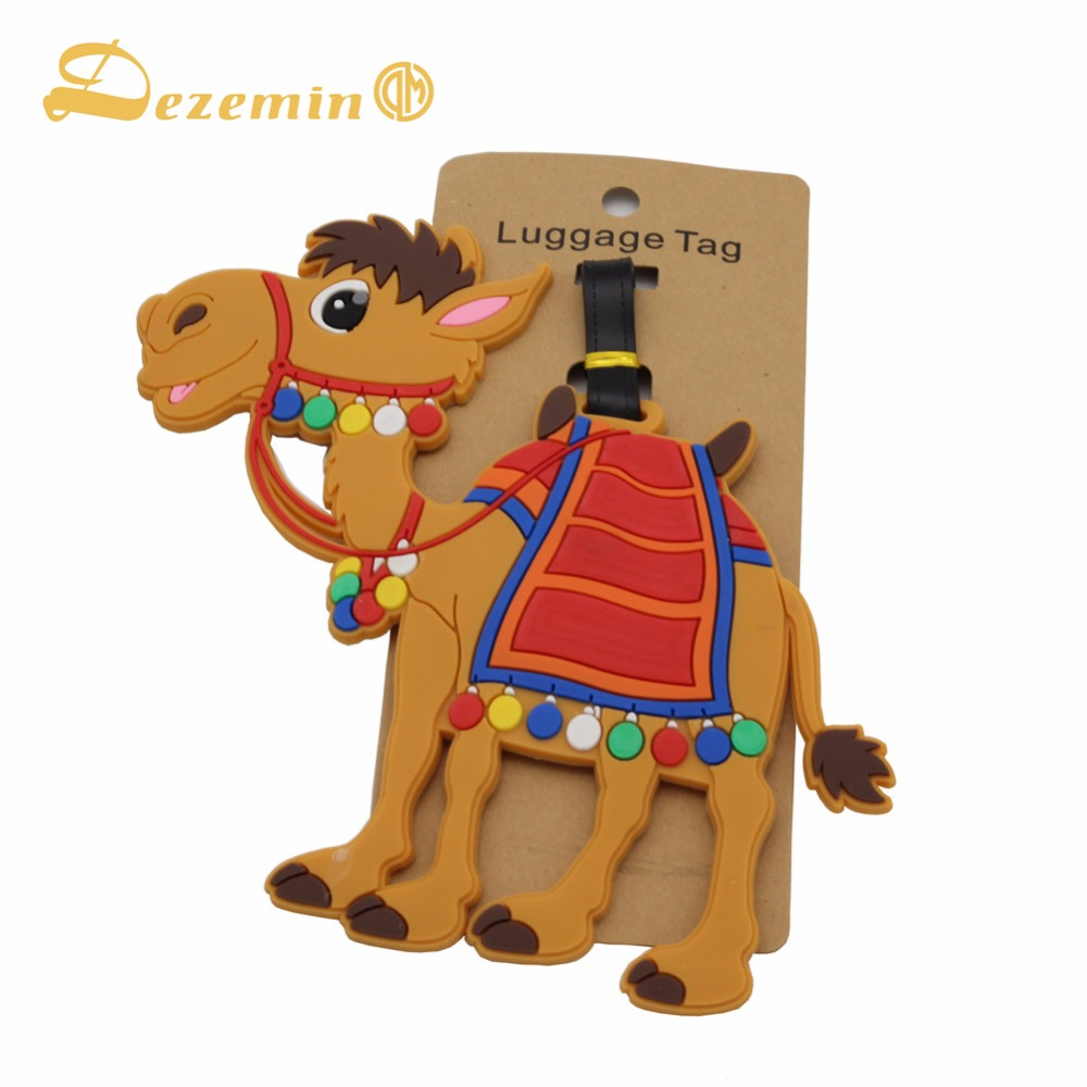 DEZEMIN Luggage Tags Travel Accessories Suitcase Label Name Card