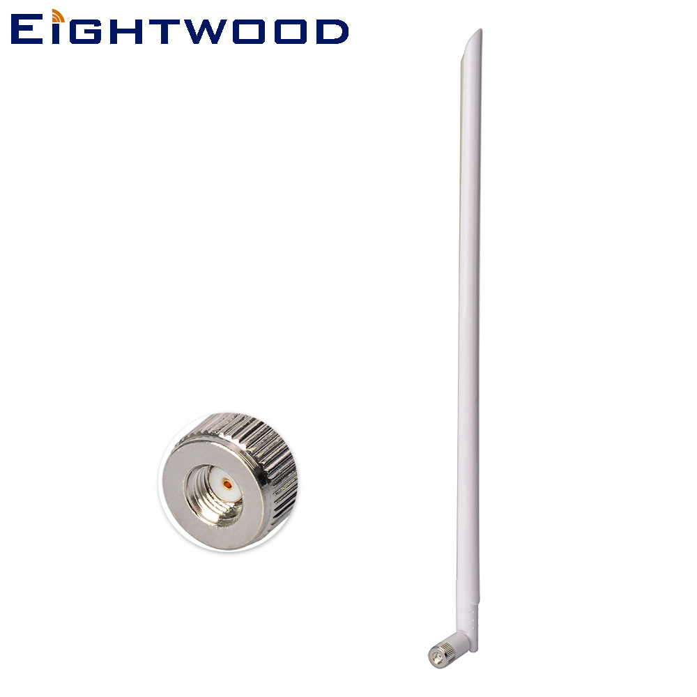 Eightwood WiFi Antenna 2.4GHz 11dbi with RP-SMA Male Connetor compatible with Wireless Router and WLAN image