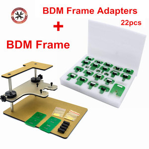 New BDM Frame With Full Adapters For KESS / FGTECH V54 BDM Frame Full Sets ECU Proframmer + 22pcs BDM Adapters Lowest Price(China)