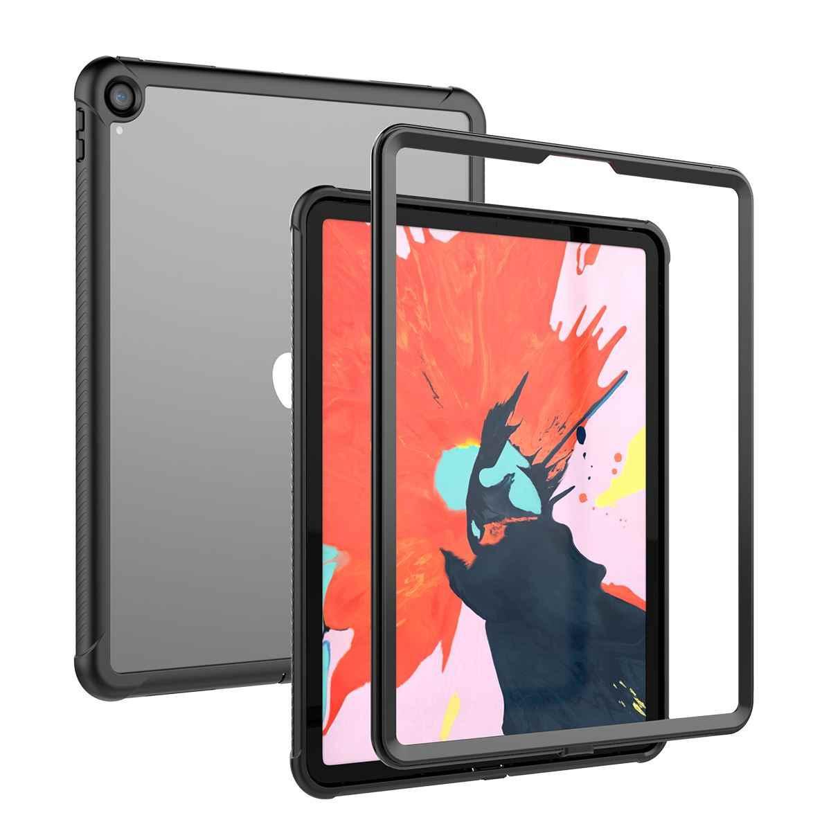 Cho iPad Pro 12.9 2018 Trường Hợp Cuộc Sống Không Thấm Nước 360 Độ Bảo Vệ Chống Bụi Chống Sốc Tablet Bìa Đối Với iPad Pro 12.9 inch 2018