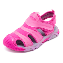2018 Новий літня мода Дитячі сандалі Хлопчики Дівчата Спортивні взуття Cute Pink Caterpillar Дитячий відпочинок Взуття Дитяче пляжне взуття