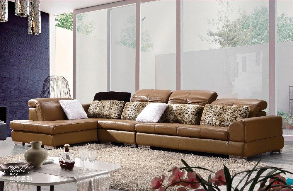 2015 moderne sofa set ikea bank lederen sofa set woonkamer meubels