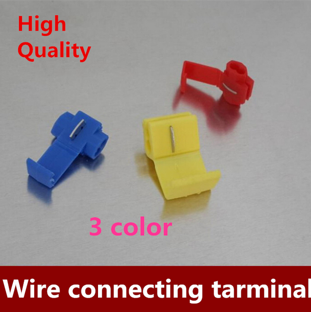 free shipping 100pcs lot 3 color scotchlok quick splice wire rh aliexpress com 3M Scotchlok Red Yellow Scotchlok Crimper
